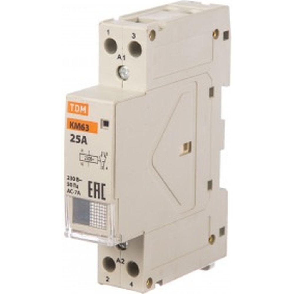 Модульный контактор TDM КМ63/2-25 SQ0213-0007