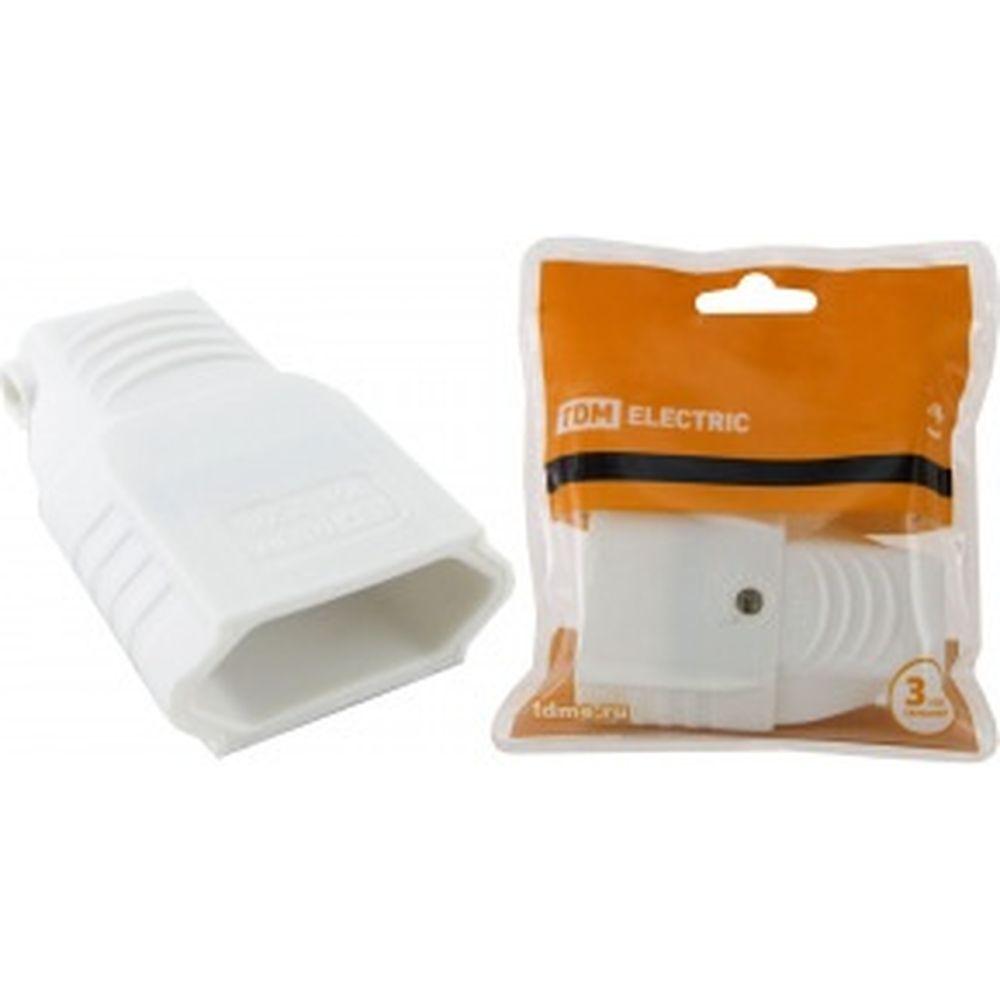 Штепсельная розетка с/з TDM 2П 10А 250B CEE 7/16 белая SQ1806-0092