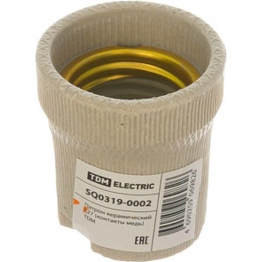 Керамический патрон E27 TDM SQ0319-0002