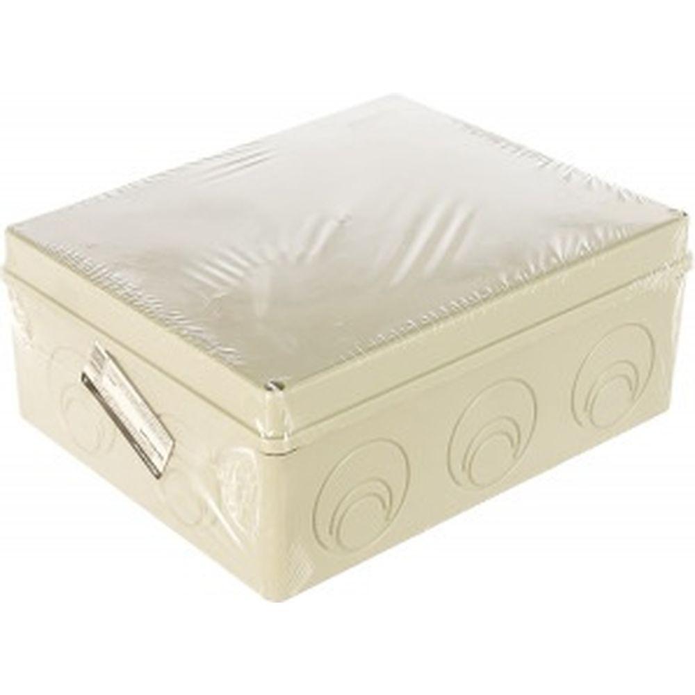 Распаячная коробка с крышкой ОП 240х195х90мм, IP55, кабельные ввода d28-3 шт, d37-2 шт TDM SQ1401-1272