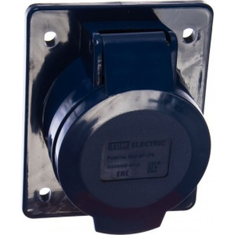 Стационарная розетка для скрытой установки 423 2Р+РЕ 32А 220В IP44 TDM SQ0604-0014