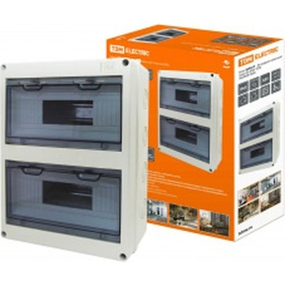 Бокс TDM ЩРН-П-24 модулей навесной пластик IP65 SQ0908-0006