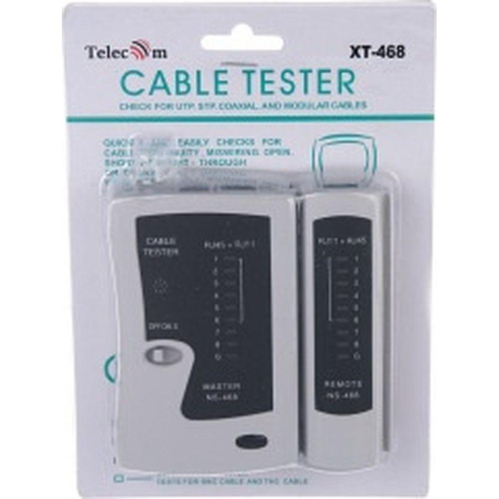 LAN тестер Telecom для RJ-45, RJ-12 /LY-CT005/ XT-468