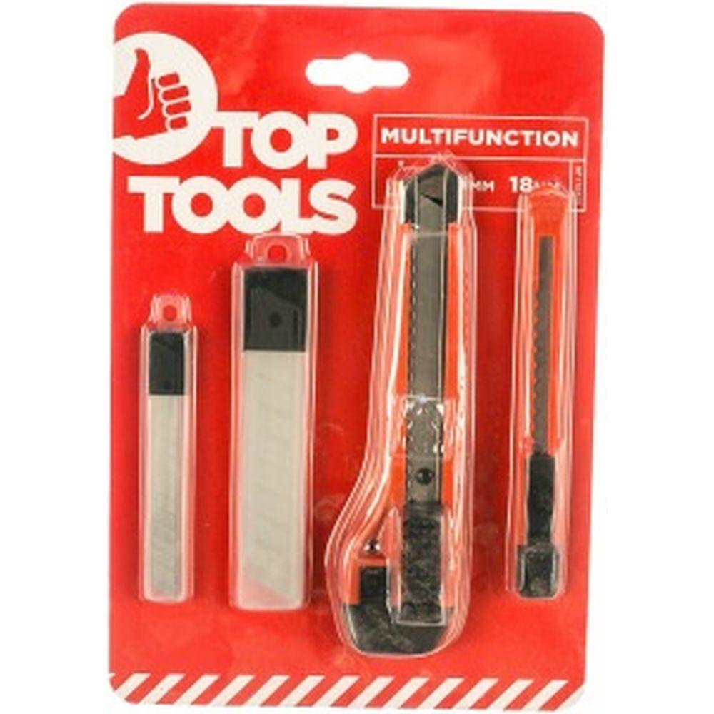Набор ножей, лезвия Top Tools 17B531