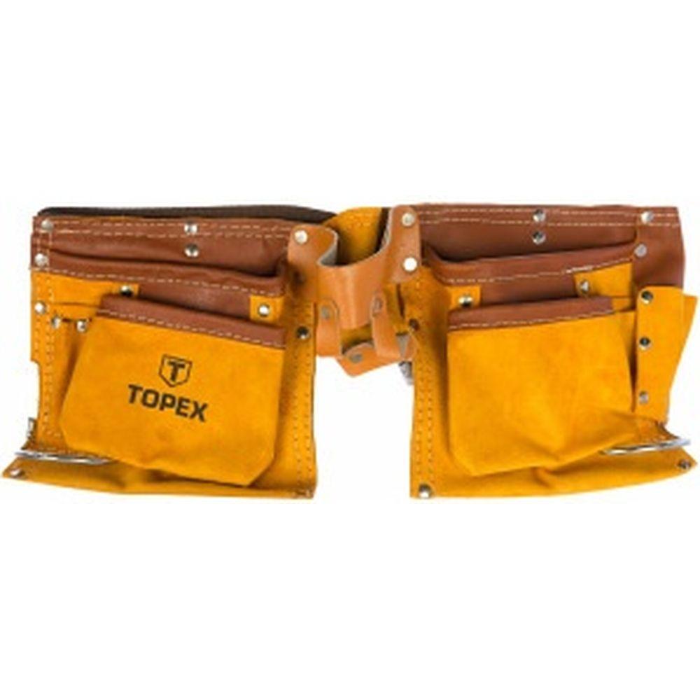 Пояс для инструмента (11 карманов) TOPEX 79R405