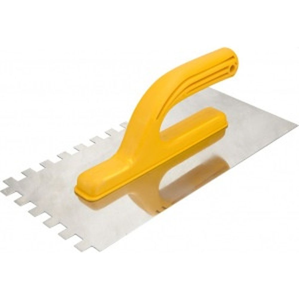 Зубчатый шпатель TOPEX 10x10x10 мм 13A290