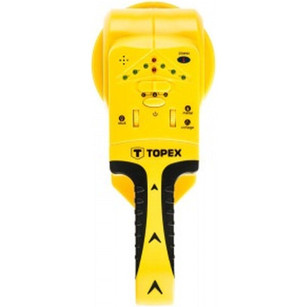 Детектор 3 в 1 для дерева/напряжения/металла TOPEX 94W120