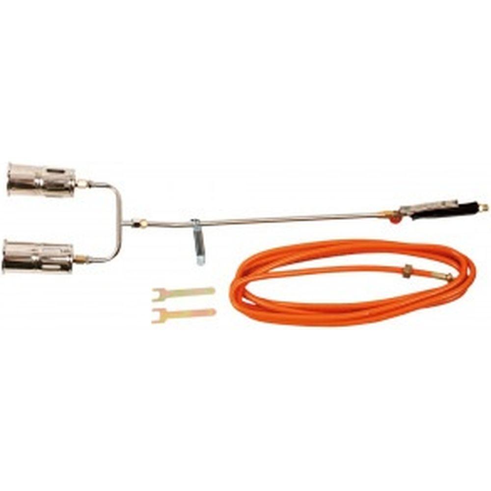 Набор для газовой пайки TOPEX 110 кВт, 2 насадки 44E121
