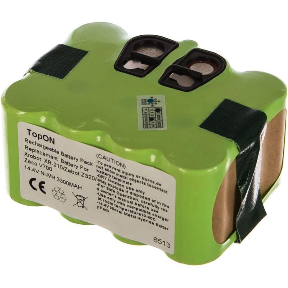 Аккумулятор для робота-пылесоса (14.4В, 3.3Ач, Ni-MH) TopON PN: YX-NI-MH-022144,  NS3000D03X3 TOP-XRBT