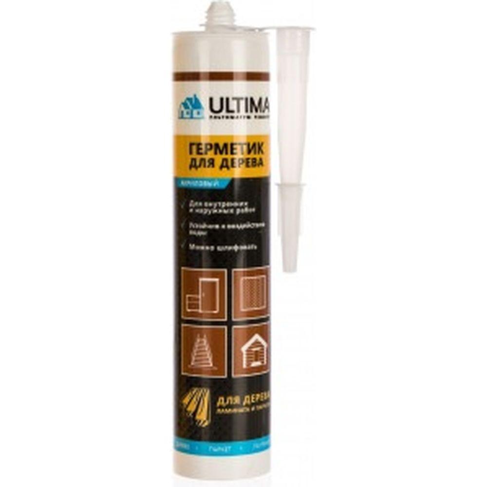 Акриловый герметик для дерева ULTIMA Дуб 300 гр ULTD300