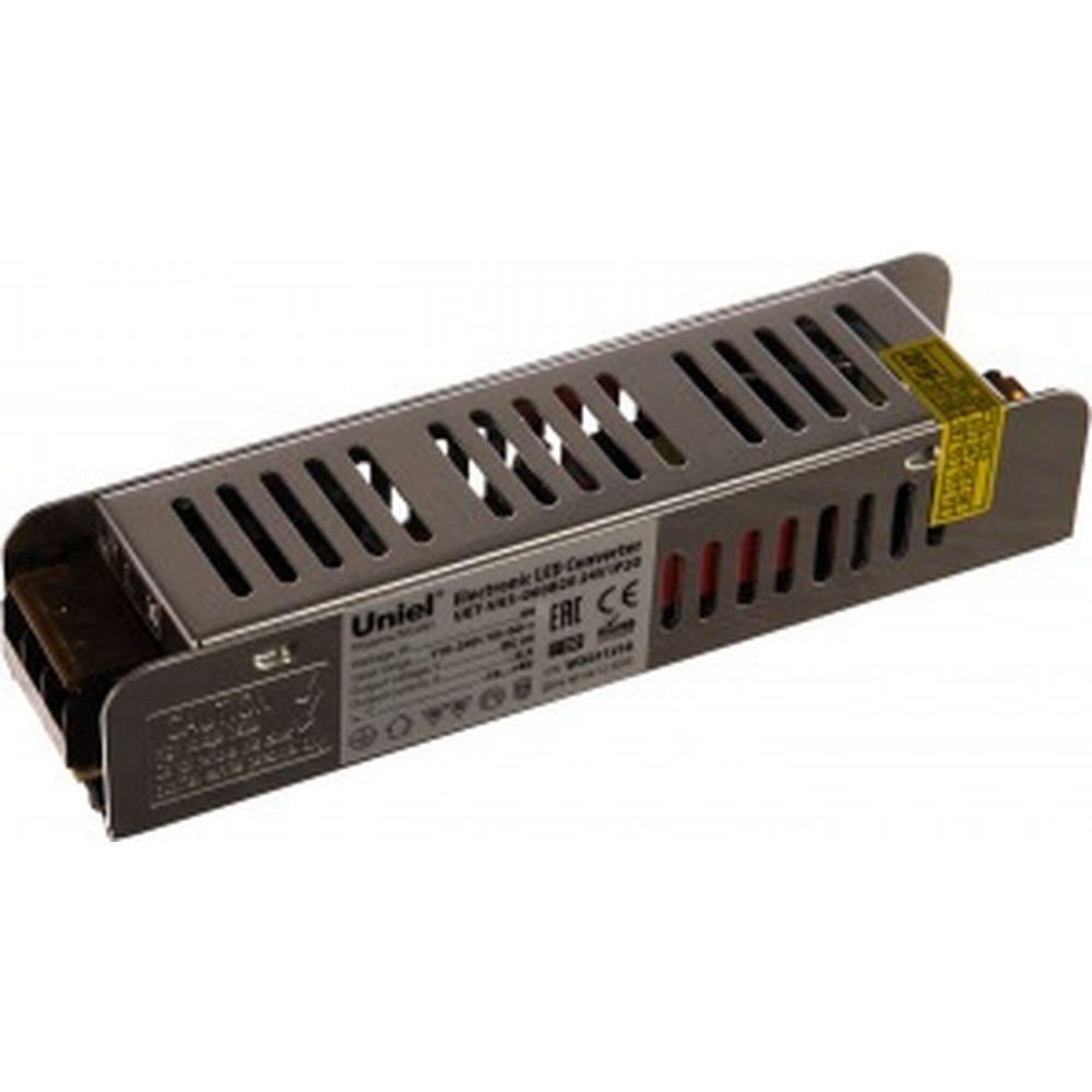 Блок питания Uniel UET-VAS-060B20 24V IP20, 60Вт. UL-00002429