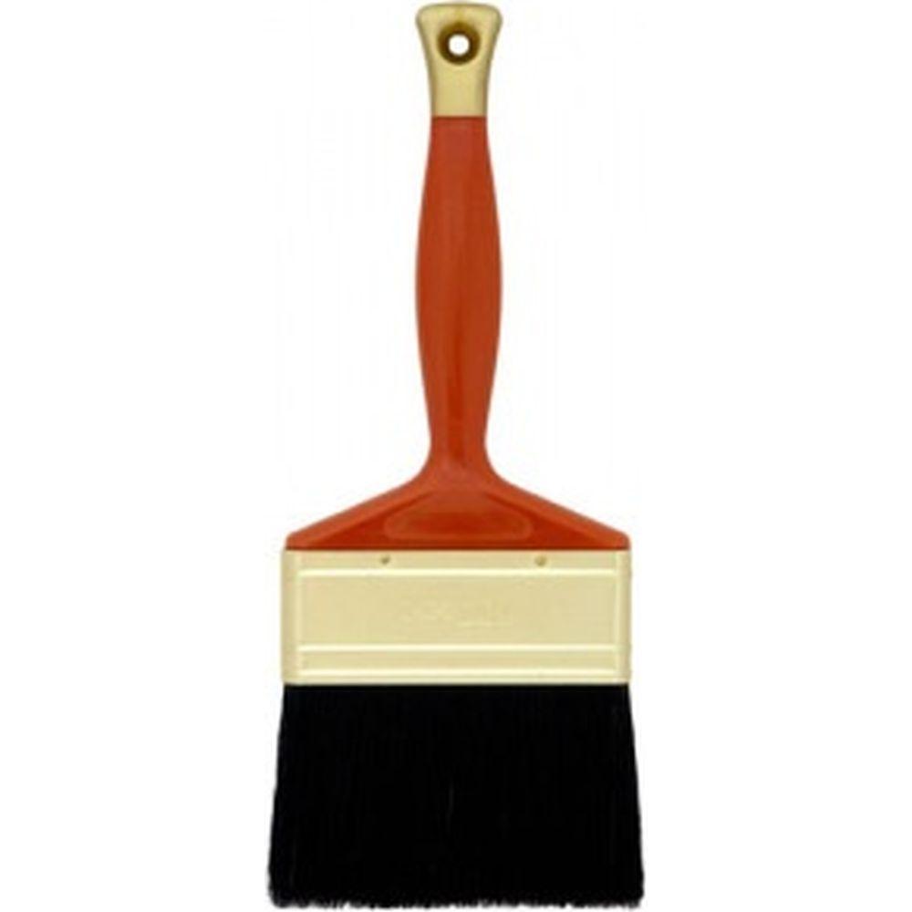 Кисть (плоская, натуральная черная щетина) 25мм ВАРЯГ 31221 тов-148744
