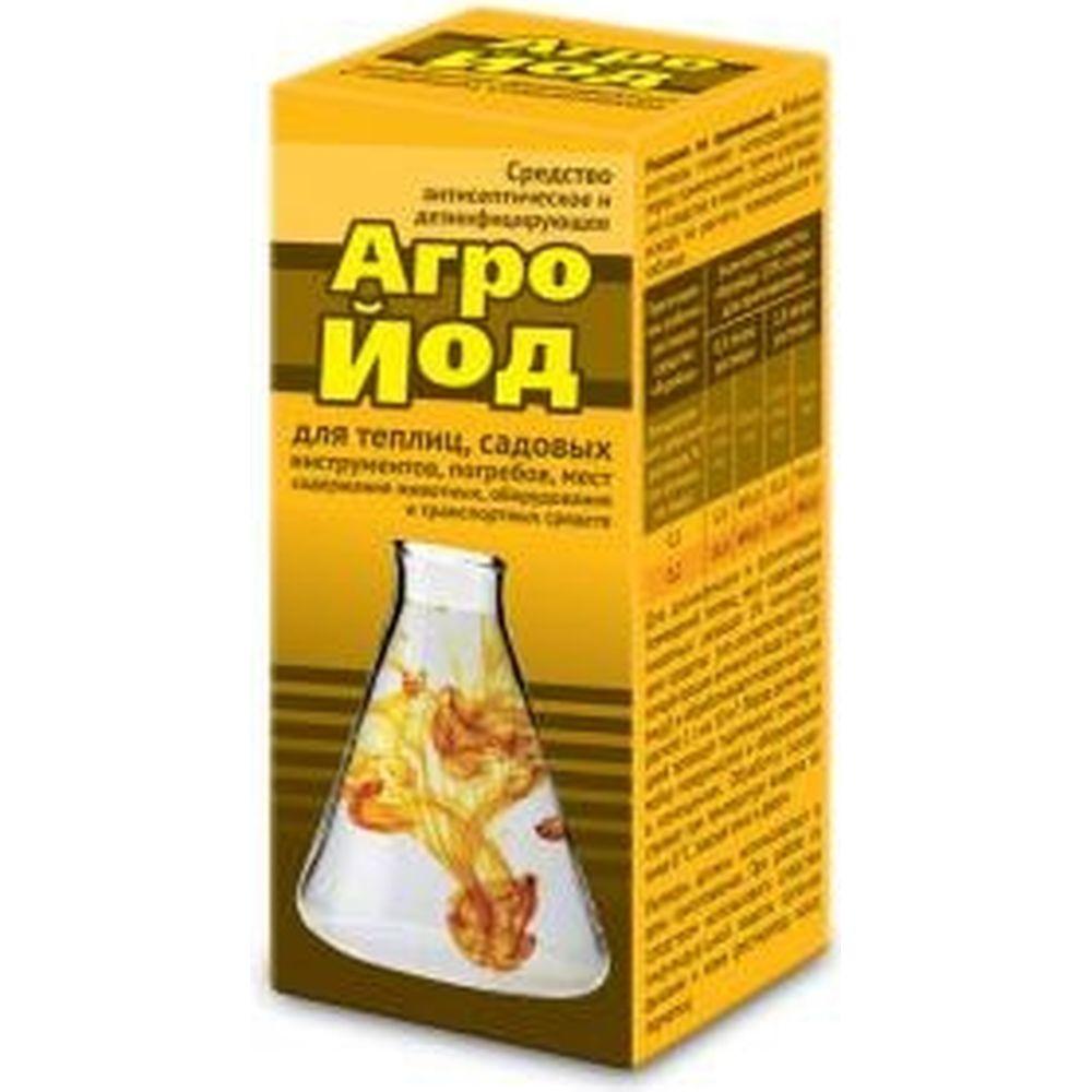 Антисептическое и дезинфицирующее средство Ваше Хозяйство Агройод 100 мл 4620015697802