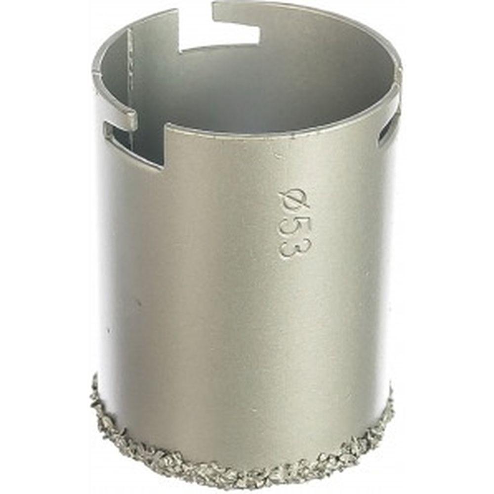 Коронка для плитки с вольфрамовым напылением (53x55 мм) VERTO 60H906