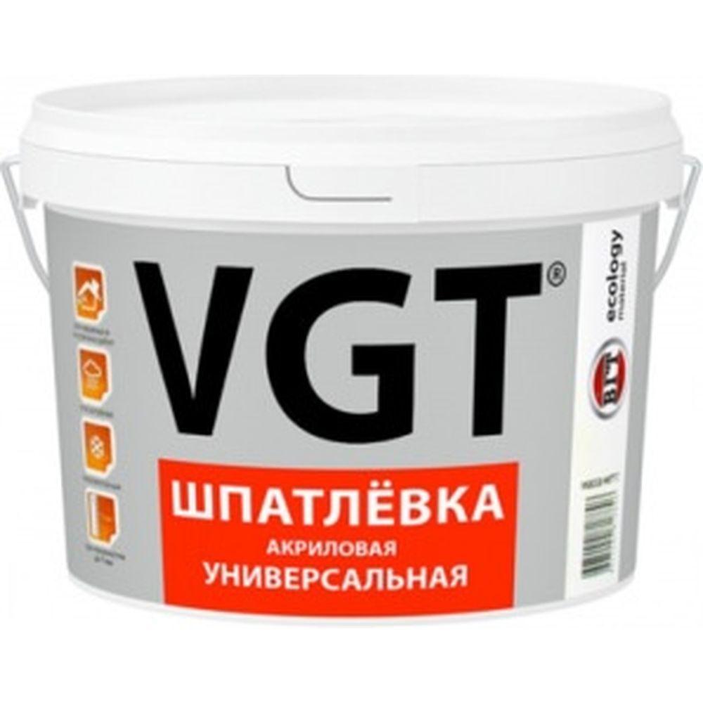 Акриловая универсальная шпаклевка 1 кг для наружних и внутренних работ VGT 52963