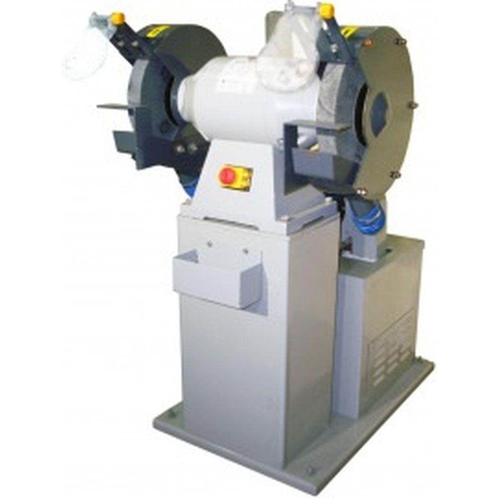 Двухдисковый шлифовальный станок с пылесосом VISPROM BKL-3000 39000900