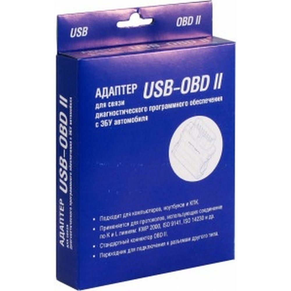 Адаптер K-line (USB - OBD II) для диагностики авто Вымпел 3009