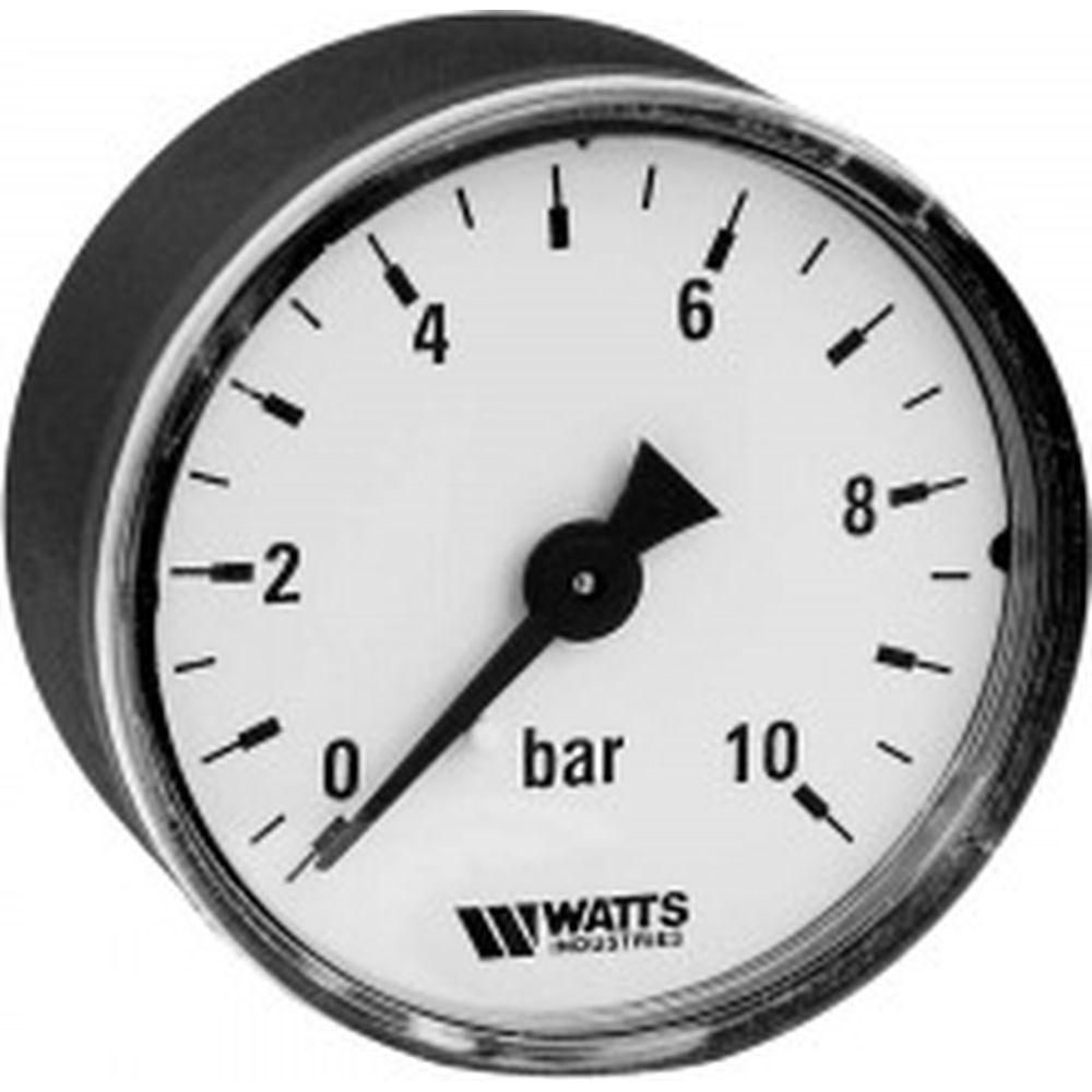 Аксиальный манометр Watts F+R100 0-10 bar, корпус 50 мм 10008093