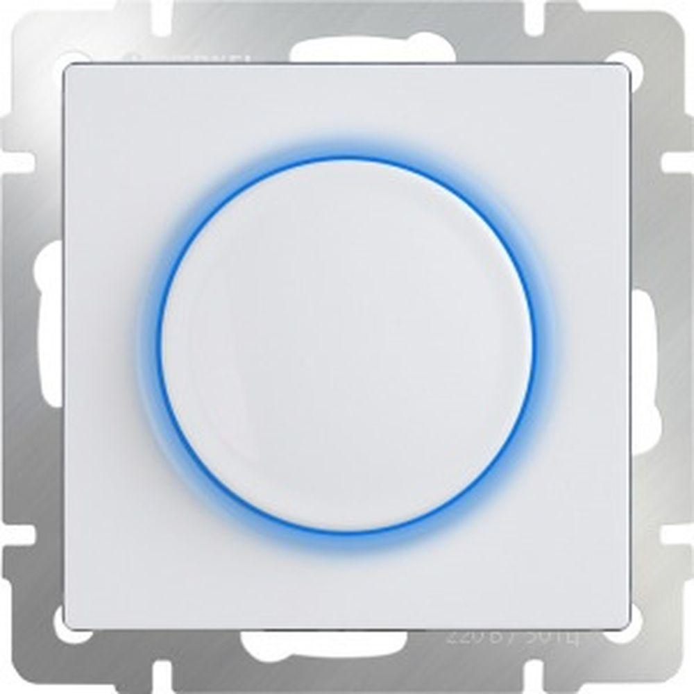 Диммер с подсветкой Werkel WL01-DM600-LED белый a041383