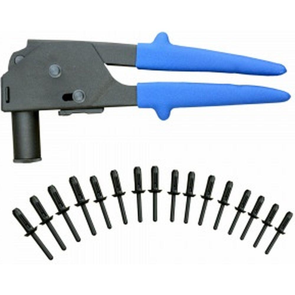 Ручной заклепочник для пластиковых вытяжных заклепок WIEDERKRAFT WDK-65644