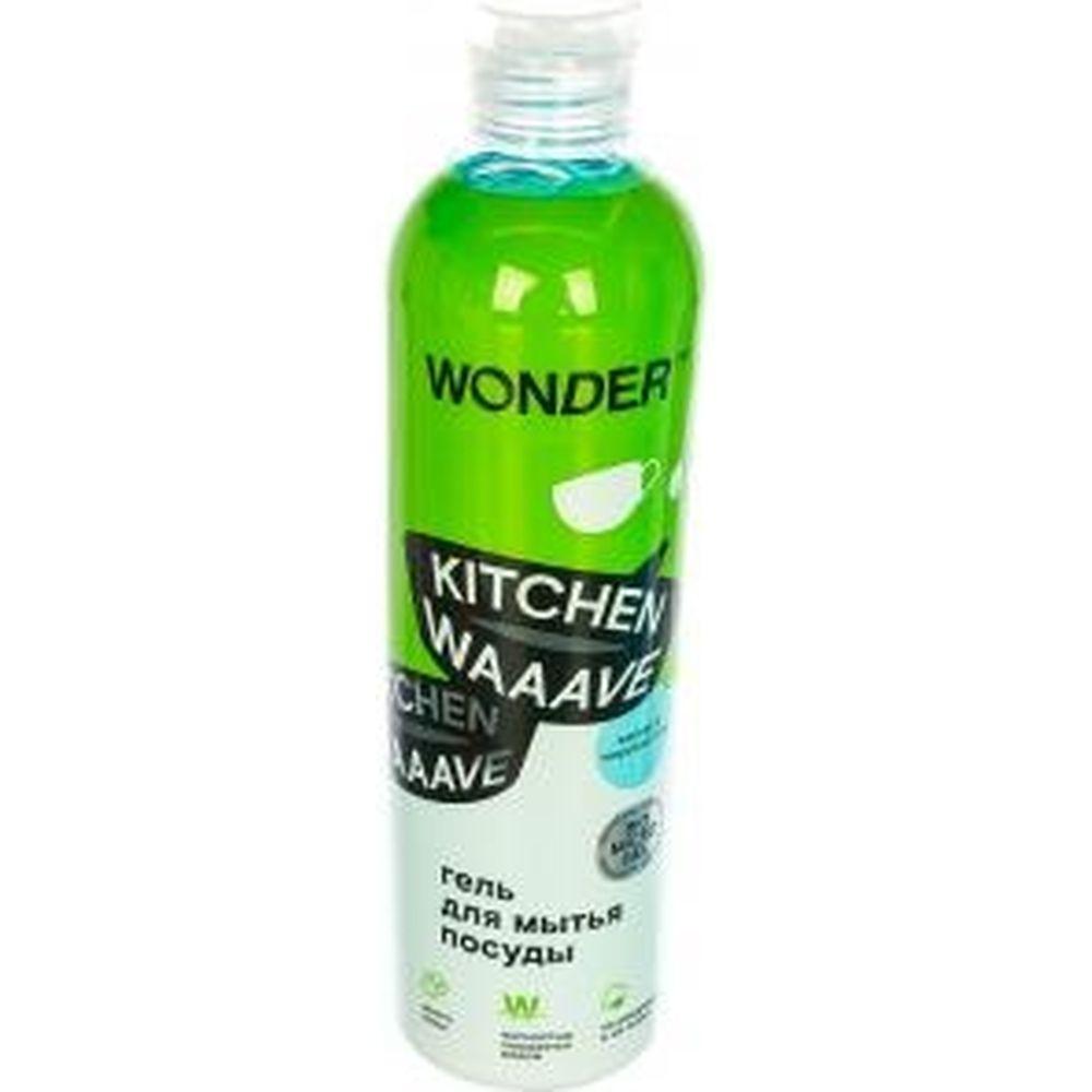 Гель для мытья посуды WONDERLAB Kitchen Waaave жасмин и морская соль WL500KW3