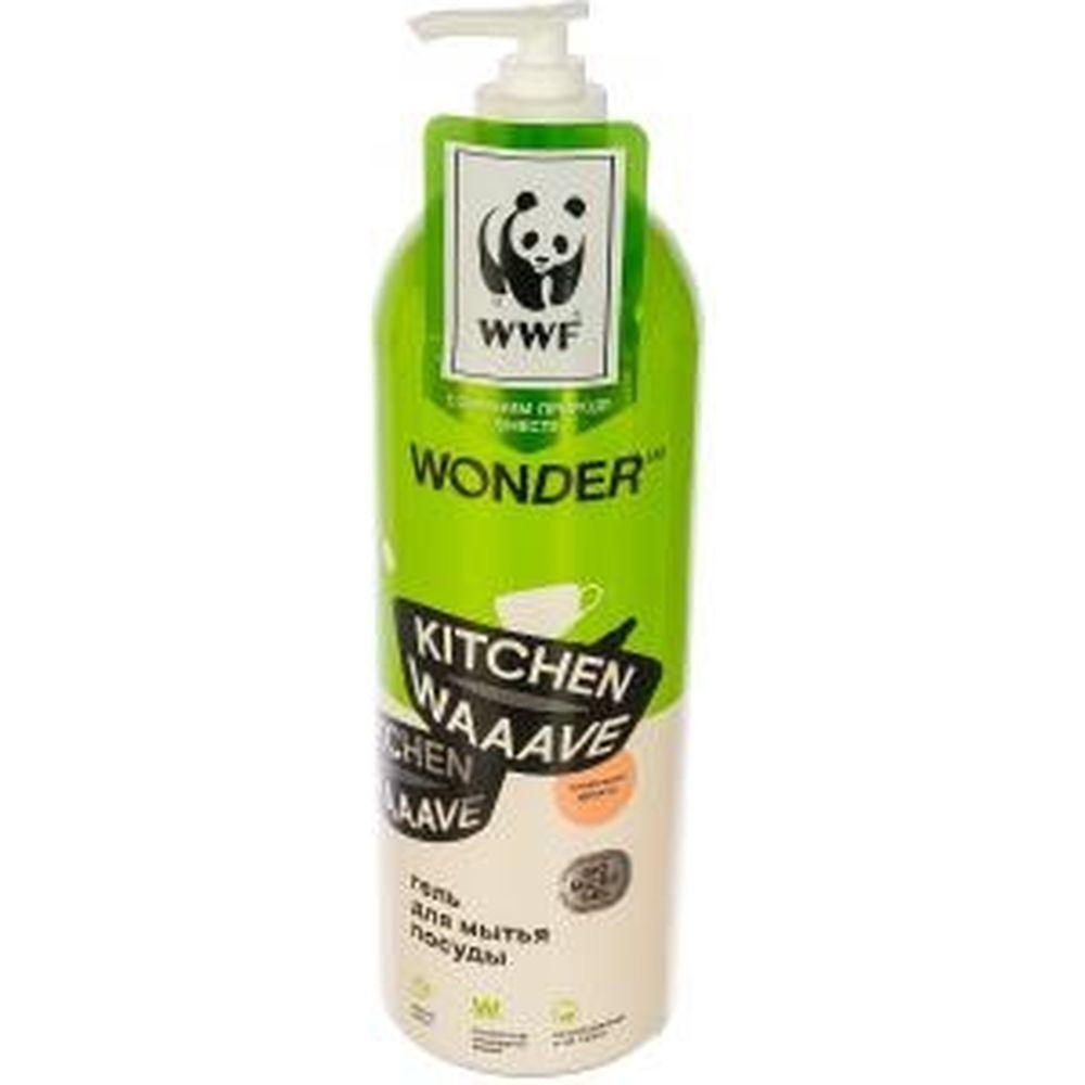 Гель для мытья посуды WONDERLAB Kitchen Waaave сливочные фрукты WL1000KW1