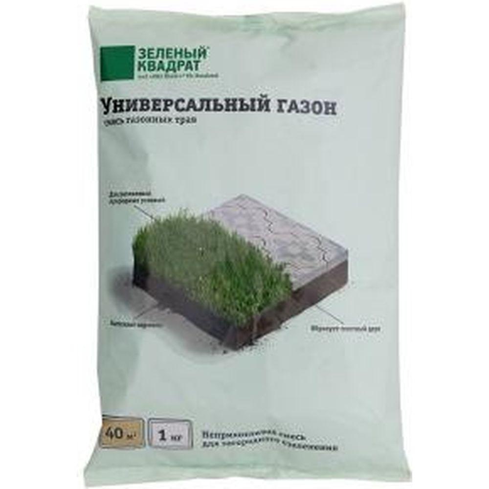 Семена газона Зеленый Квадрат Универсальный 1 кг 4607160331157