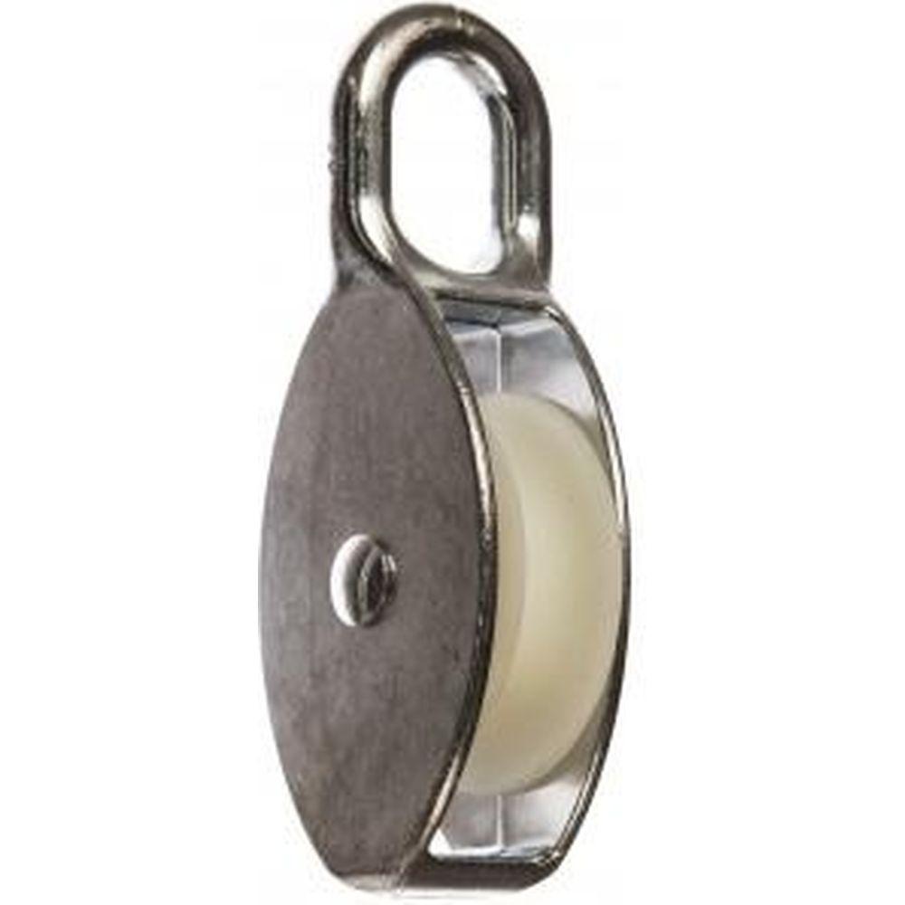 Блок одинарный с пластиковым роликом (2 шт; 12х50 мм; ТФ5) Зубр 4-304585-50