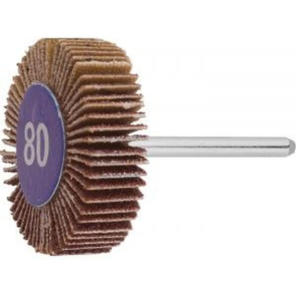 Веерный круг Зубр на шпильке P 80 d 32x10x3.2 мм L 45 мм 1 шт. 35934