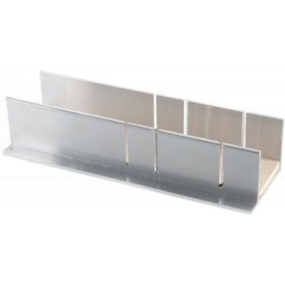 Алюминиевое стусло Зубр Эксперт с фанерной подложкой для заготовок 55x40 мм 15378-50
